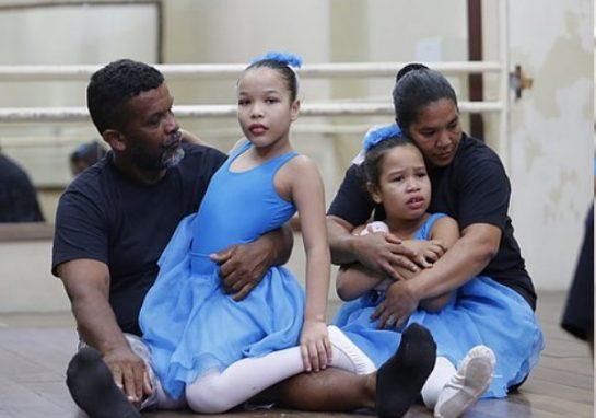 Por filha autista, pedreiro desafia preconceitos e aprende balé / Foto : Divulgação