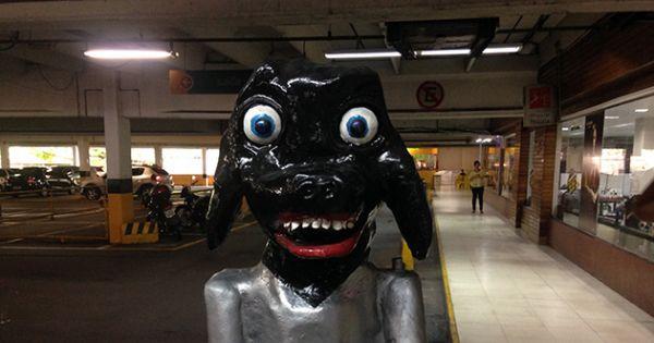 Fãs criam petição online para que o Cachorro do Estacionamento do DB volte!
