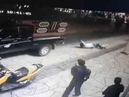 Moradores irritados com a gestão municipal, amarram Prefeito em veículo e o arrastam
