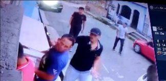 Imagens de um assalto violento que aconteceu hoje no Bairro do Jorge Teixeira