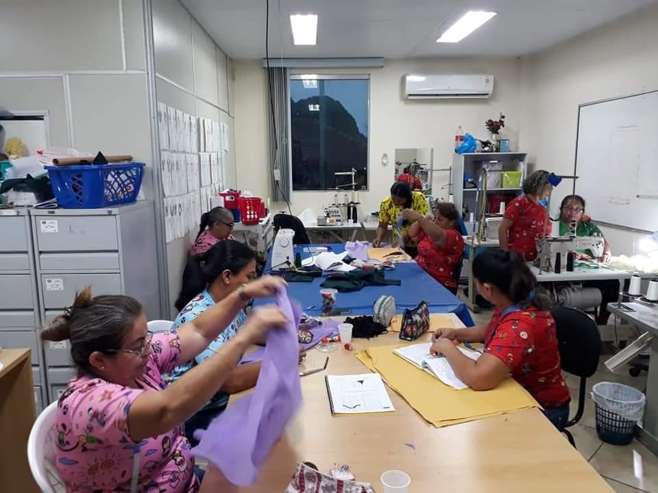 Abrigo Moacyr Alves convida Voluntários na área de Design de Estampas para atuar na Oficina de Corte e Customização / Foto : Divulgação