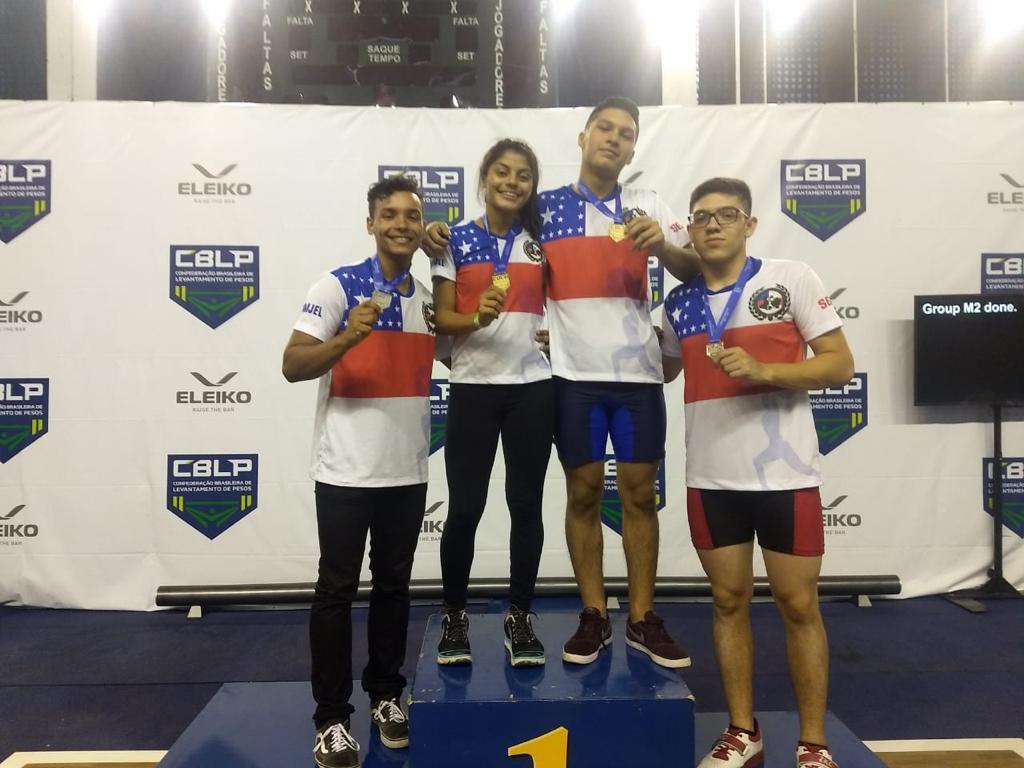 Equipe amazonense conquista o bronze no Campeonato Brasileiro Juvenil de Levantamento de Peso / Foto : Divulgação