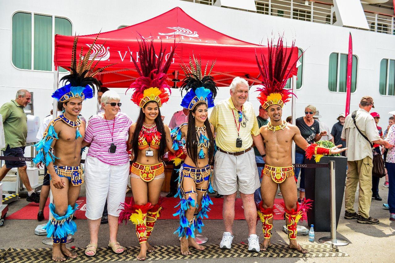 Navio com 1,3 mil turistas abre Temporada de Cruzeiros no Amazonas / Foto : Janailton Falcão