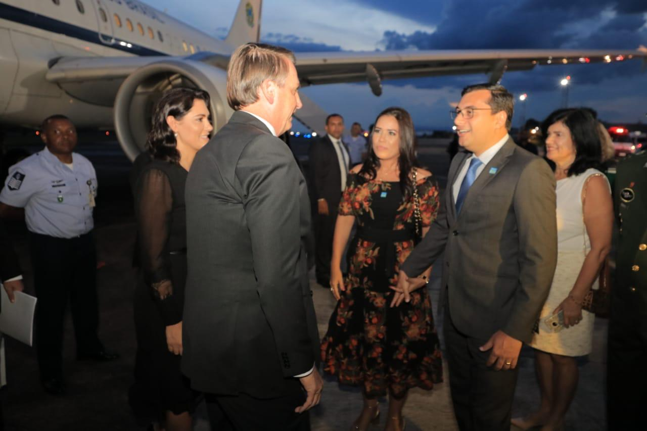 Wilson Lima recebe Bolsonaro em Manaus e, nesta quarta-feira, abrem Feira de Sustentabilidade do PIM.
