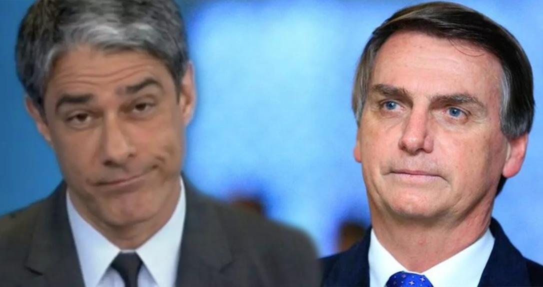 Bonner é acusado por Bolsonaro de sonegar imposto e tem seu salário revelado pelo presidente