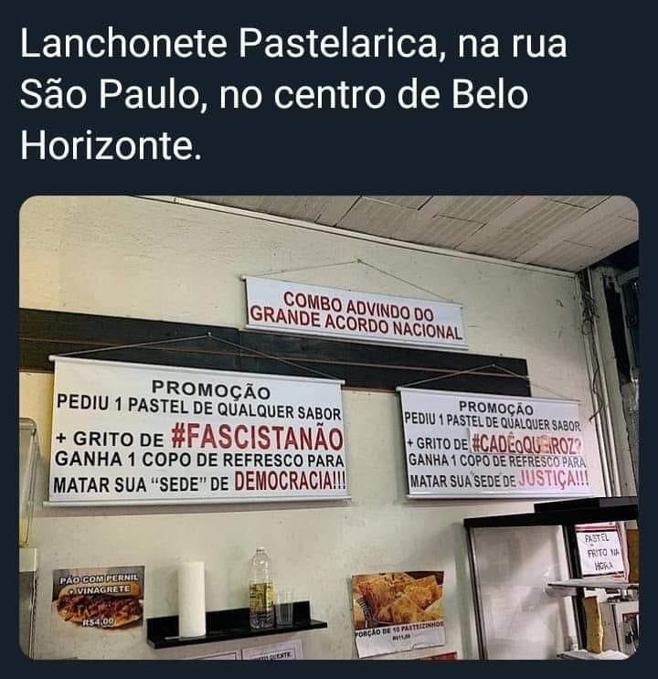 A pastelaria mais democrática do Brasil !!!