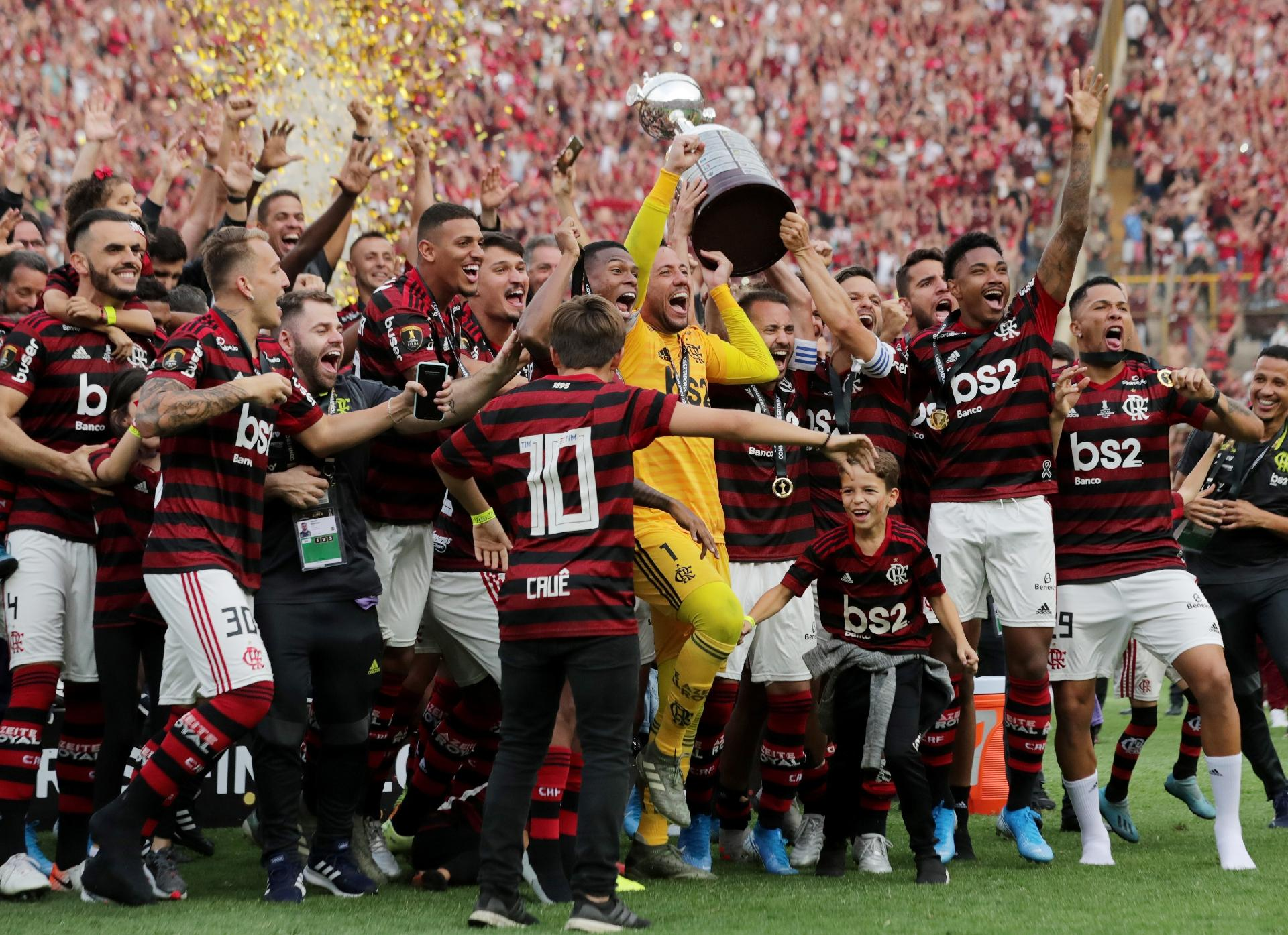 Flamengo campeão Libertadores da América 2019 / foto : Divulgação