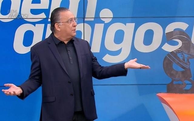 """Reproduçao TV Globo Galvão Bueno no programa """"Bem, Amigos"""""""