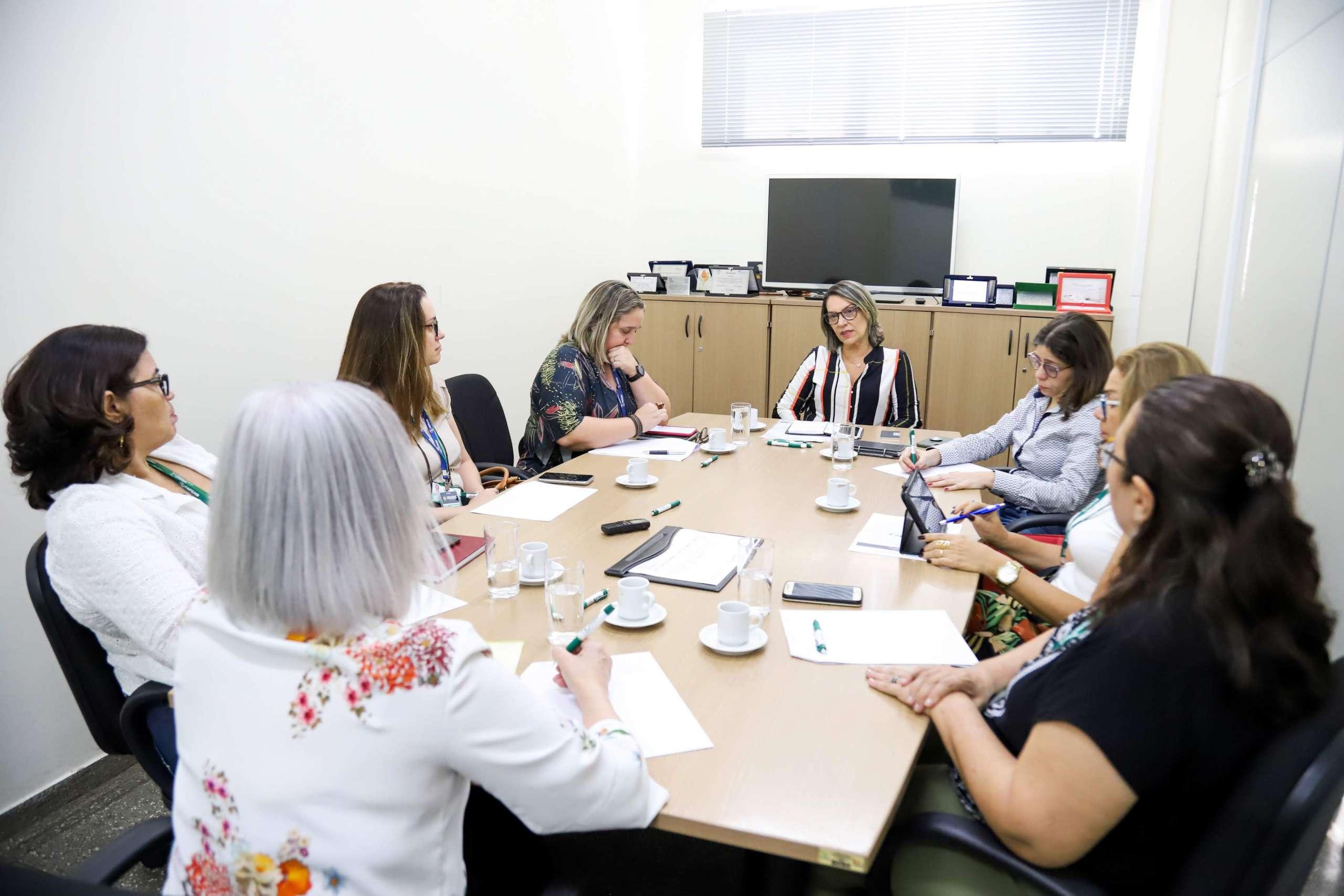 Fapeam reúne com pró-reitores para ações de melhoria dos programas de pós-graduação do Amazonas / FOTO: Érico Xavier/Fapeam