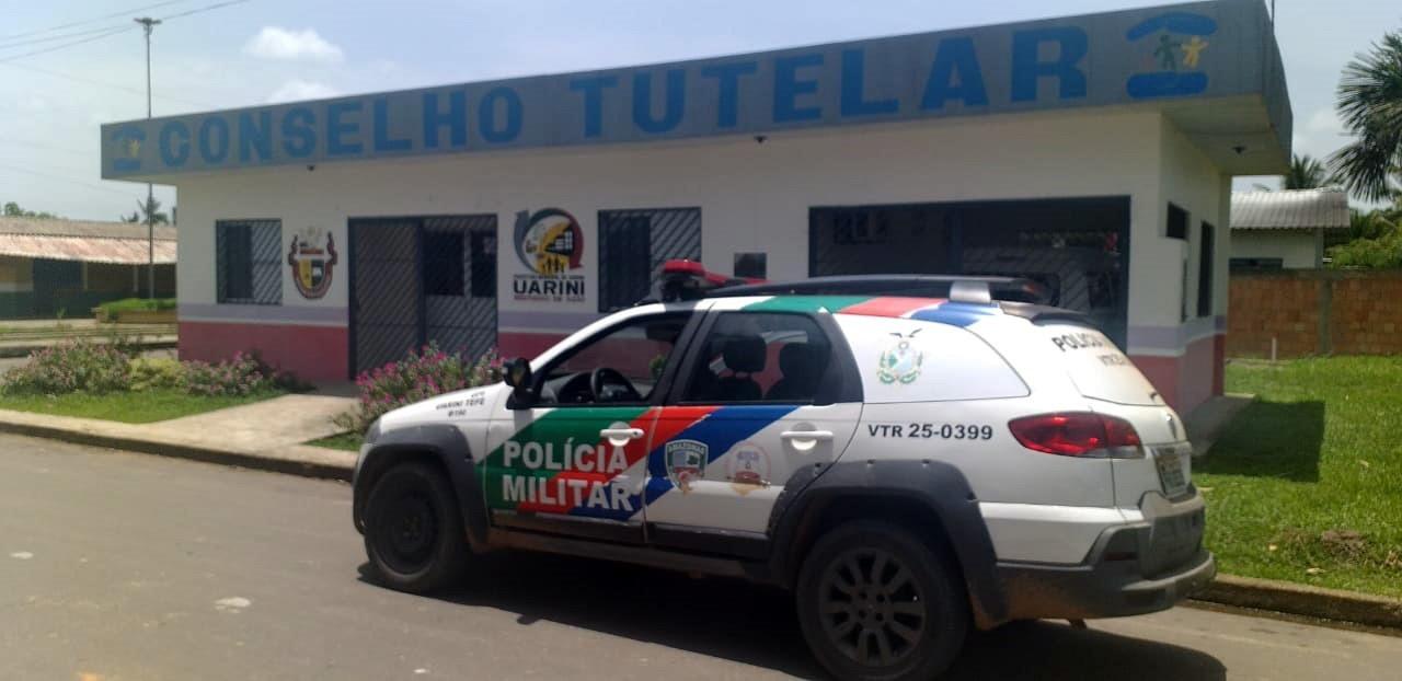 Polícia Militar resgata criança de cárcere privado no município de Uarini / Divulgação/SSP-AM