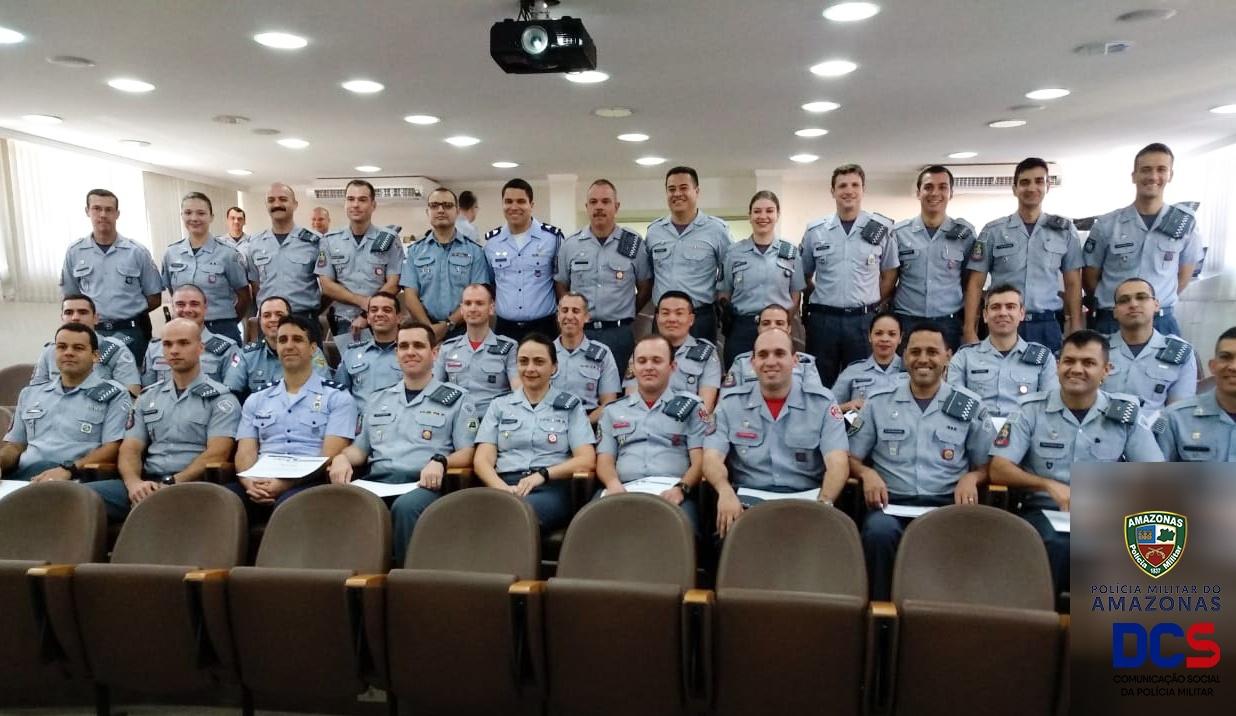 Oficiais da Polícia Militar do Amazonas