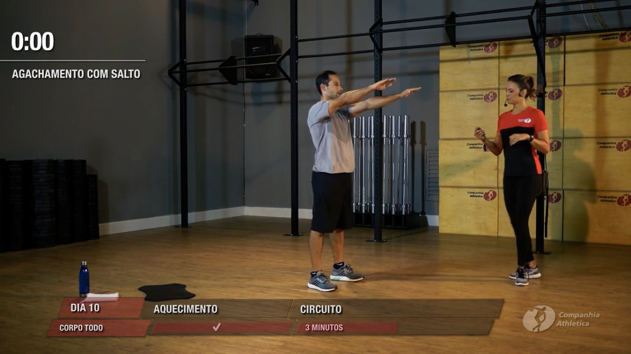 Rede Cia Athletica disponibiliza aulas em vídeos durante período que academias ficarem fechadas / Divulgação