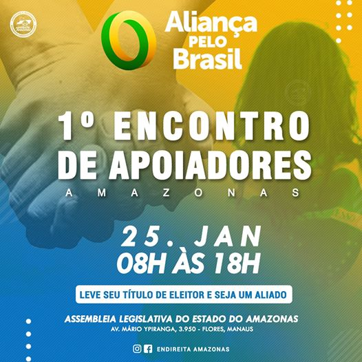 Movimentos de apoio a Jair Bolsonaro se unem para a criação do novo partido