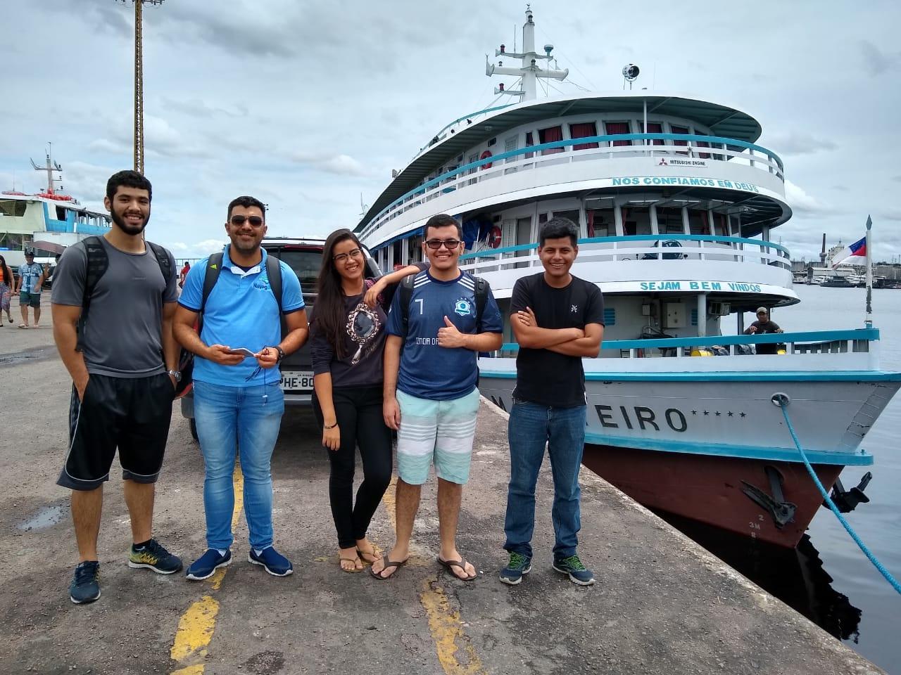 Startup da UEA implanta projeto pioneiro no sistema de venda de passagem via fluvial