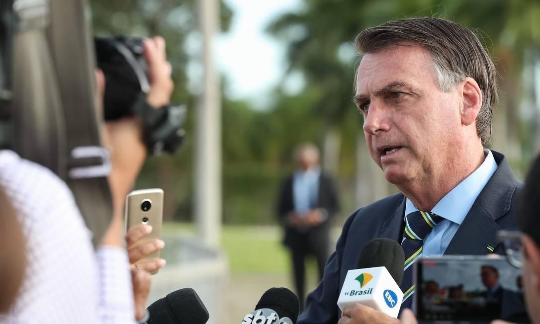 Jair Bolsonaro tomou a decisão de demitir todos os diretores, em uma conversa com um amigo, no período de carnaval – foto: arquivo/Inmetro