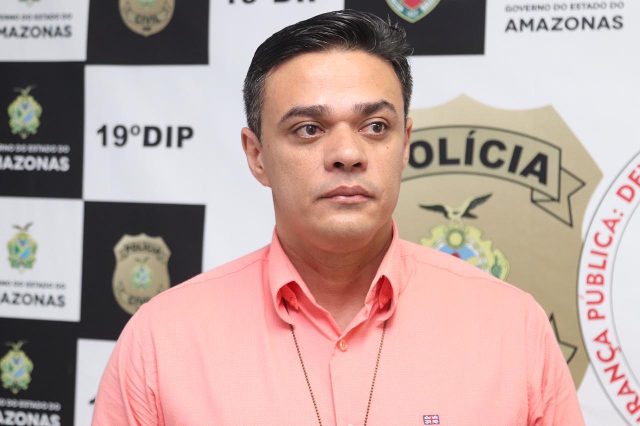Delegado Aldeney Goes / FOTO: Alailson Santos/PC-AM