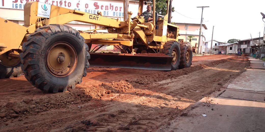 Sistema viário de Caapiranga é revitalizado e dez bairros serão beneficiados / Foto: Divulgação