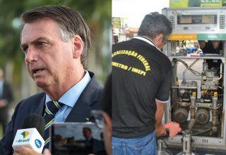"""Bolsonaro """"implodiu o Inmetro""""após determinarem instalação de chips em todas as bombas de combustíveis no país para coibir fraudes"""