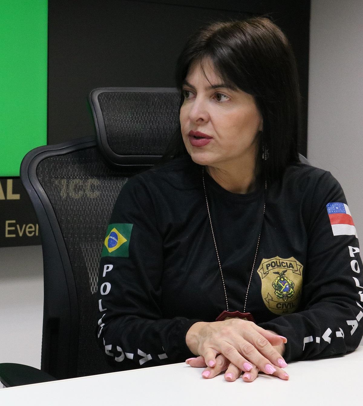 Delegada Débora Mafra / FOTO: Divulgação/SSP-AM