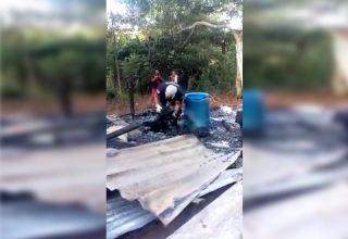 Idosos da área rural do Amazonas morrem abraçados e carbonizados após raio atingir casa
