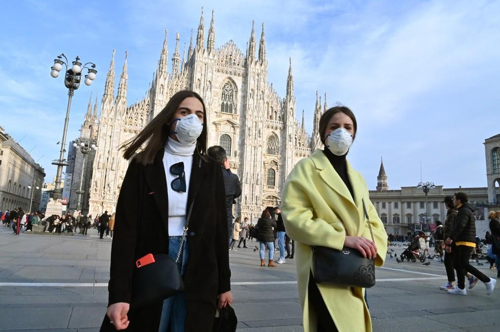 há 3 dias G1 - Globo Itália isola cidades atingidas pelo coronavírus,