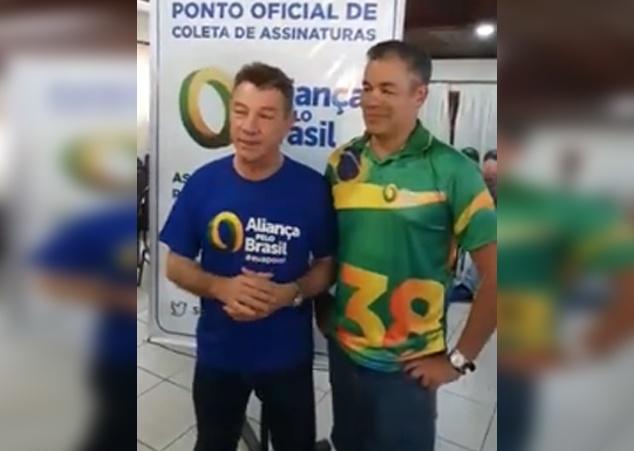 Governador Bolsonarista Antonio Denarium lança pré-candidatura de Josué Neto