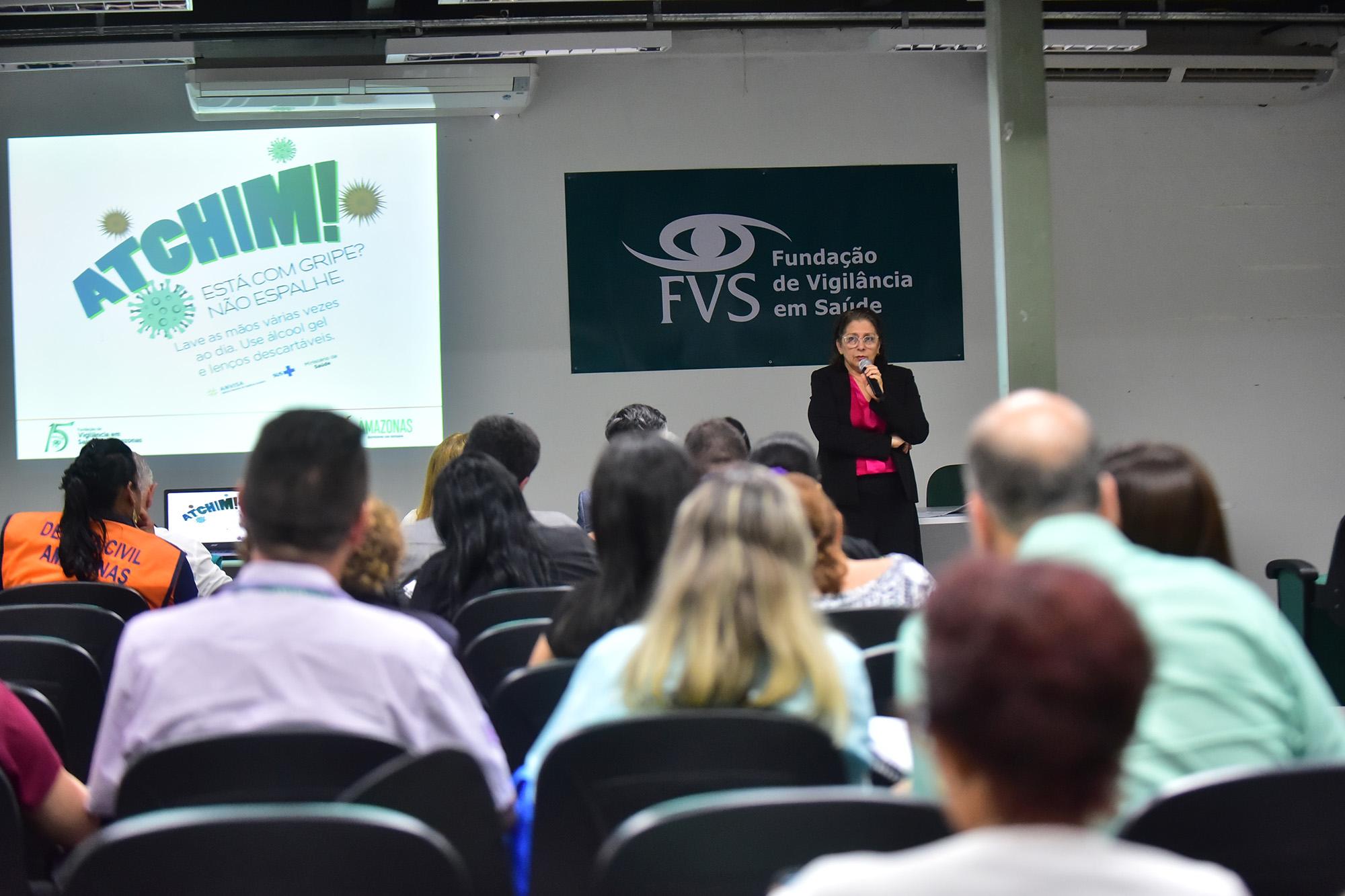 Susam reforça que Amazonas não tem casos suspeitos ou confirmados do novo coronavírus / Foto Tácio Melo / SECOM