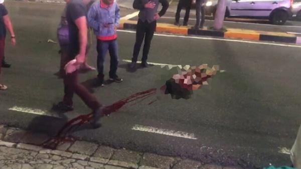 Mulher de 24 nos morre após cair de moto e ter a cabeça esmagada