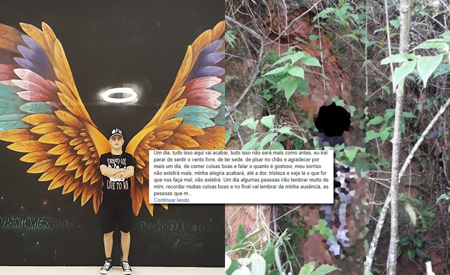 Jovem se suicidou / Divulgação