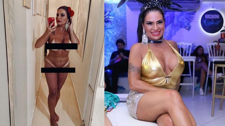 Após foto íntima nas redes sociais, atriz Solange Gomes se pronuncia
