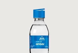 Ambev fabricrará álcoo em gel para doar para hospitais públicos das cidades mais atingidas pelo COVID-19