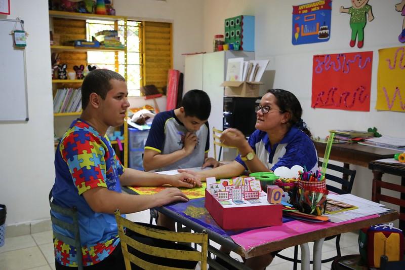 Associação de Amigos do Autista do Amazonas / Foto - Karla Vieira / Fundo Manaus Solidária