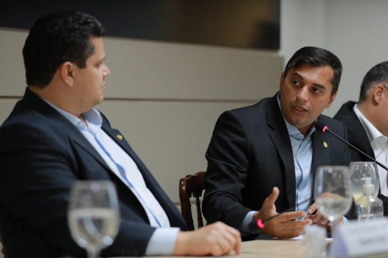 Governador Wilson Lima faz teste para o novo Coronavírus