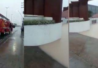 Casais em confinamento em motel de Manaus são resgatados por bombeiros após ficarem ilhados