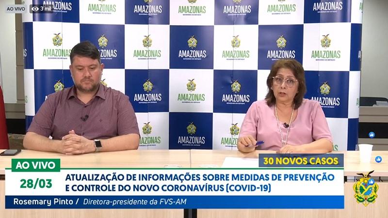 Governo confirma mais 30 novos casos, agora são 111 casos confirmados em todo o Amazonas
