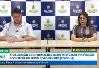 Coronavírus no Amazonas já chega a 67 casos confirmados. Capital e 3 municípios já tem casos confirmados