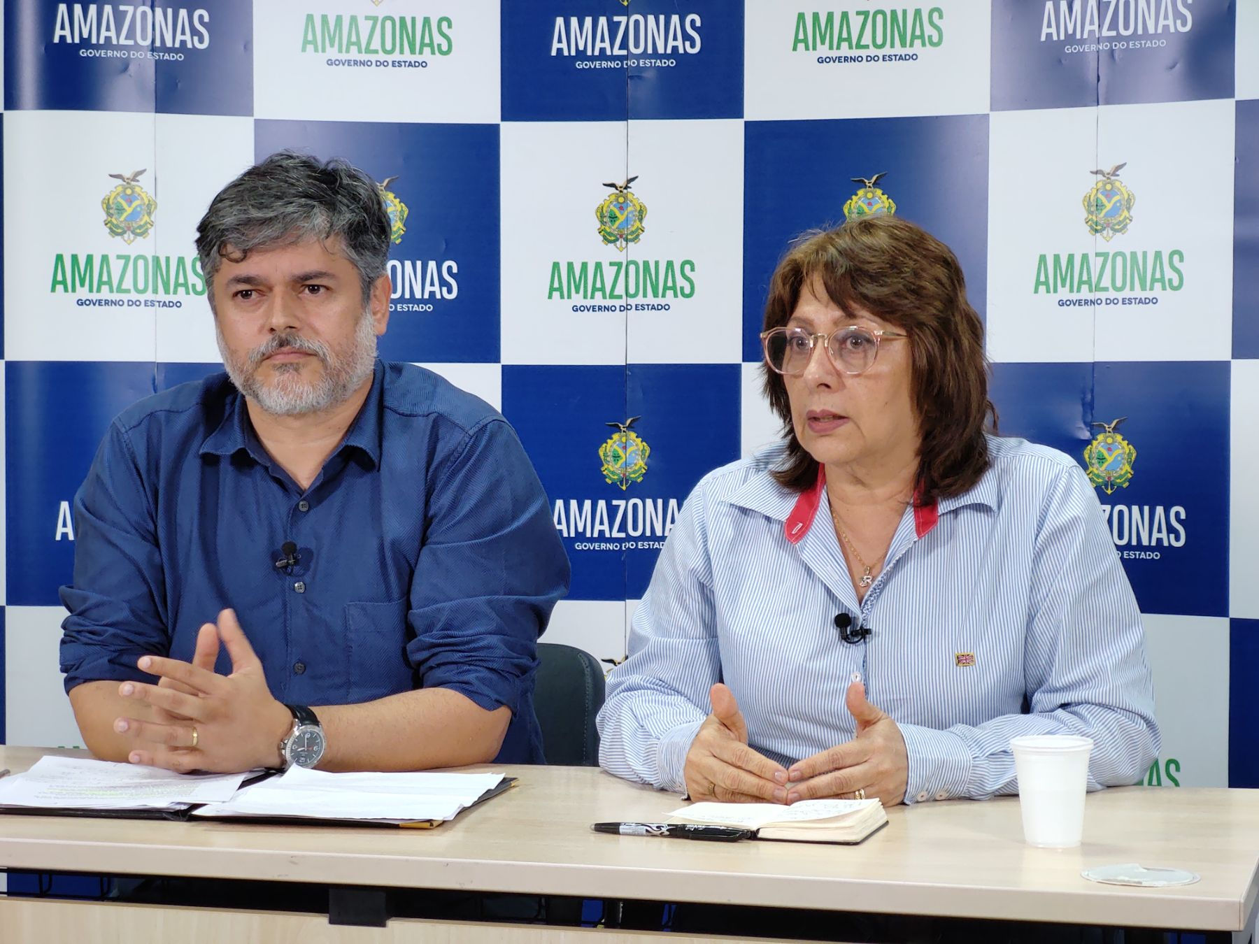 Amazonas tem 32 casos confirmados do novo coronavírus (Covid-19) / Foto : Michell Mello/Secom