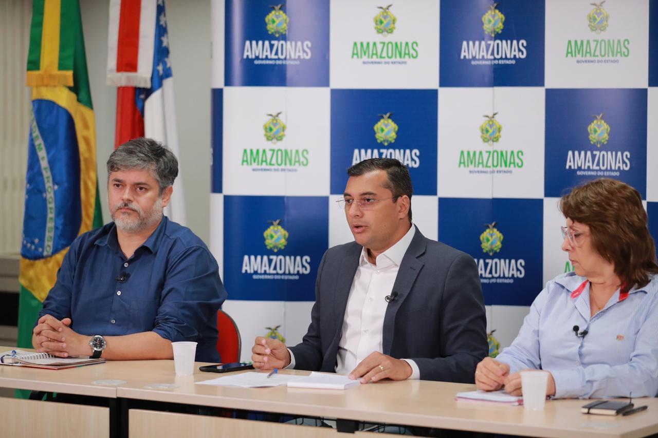 Wilson Lima decreta calamidade pública no Amazonas e anuncia medidas econômicas e de prevenção ao Covid-19 /Foto : Diego Peres