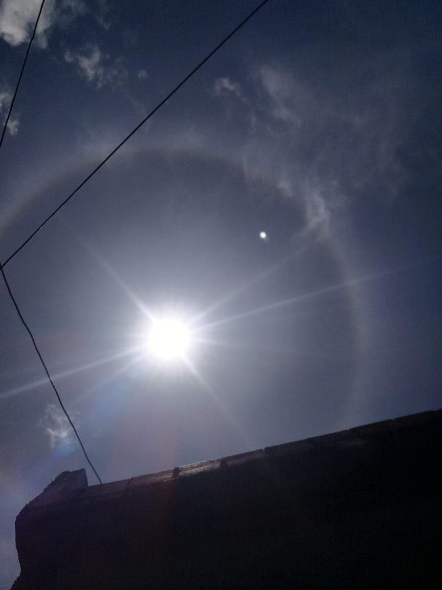 Halo solar, um maravilhoso fenômeno óptico