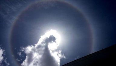 Manauaras se encantam ao testemunhar raro fenômeno solar