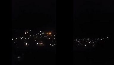 Vídeo mostra Monte Horebe neste momento. Comunicação com códigos piscando luzes intriga!