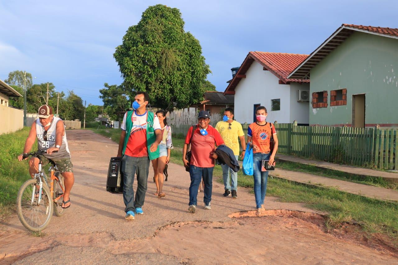Prefeitura de Barreirinha intensifica vigilância com 08 barreiras sanitárias fluviais / Foto : Divulgação
