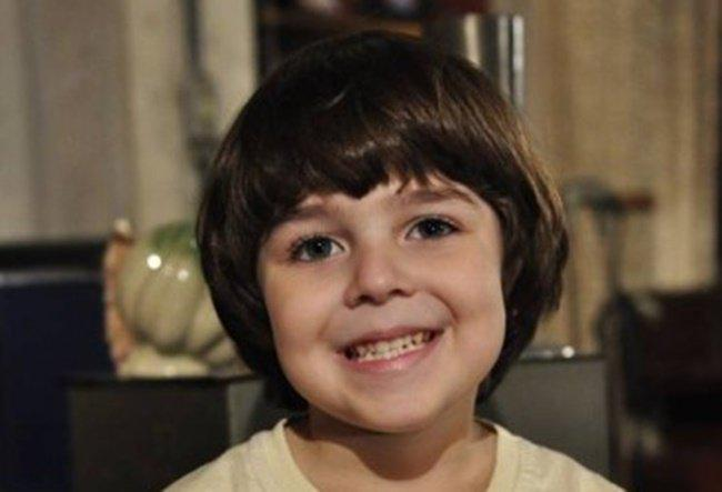 Gabriel Pelícia está totalmente diferente aos 13 anos de idade (Foto: Reprodução)