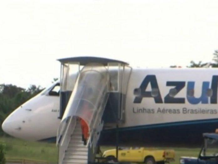 Cidade paraense impede que avião que saiu de Manaus pose e manda de volta pro Amazonas