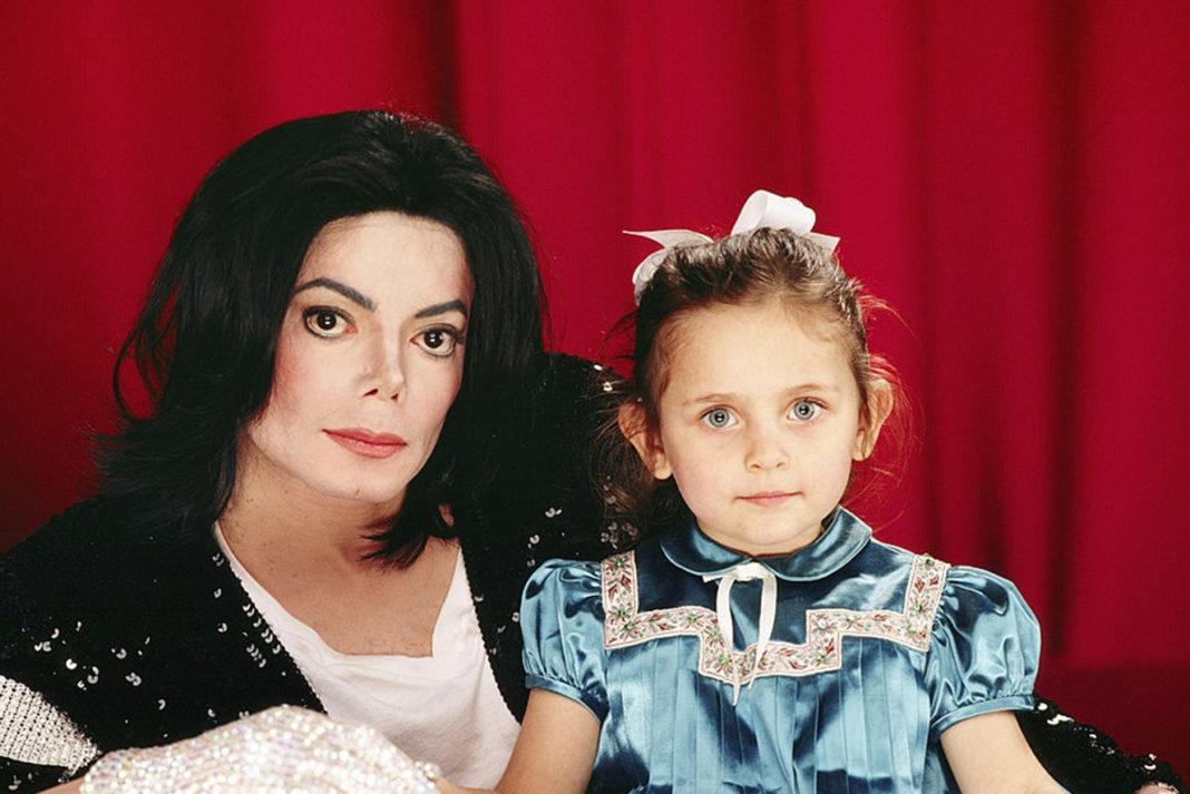 Michael Jackson e Paris Jackson / Foto : Divulgação