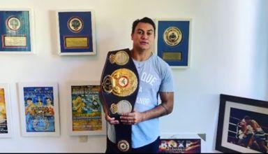 Popó vai leiloar cinturão de campeão mundial para ajudar em meio à crise do novo coronavírus