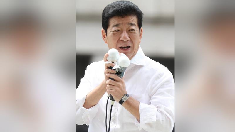 O prefeito de Osaka, Ichiro Matsui