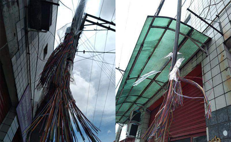 Moradores estão sem comunicação e internet após roubo de cabos no bairro Presidente Vargas