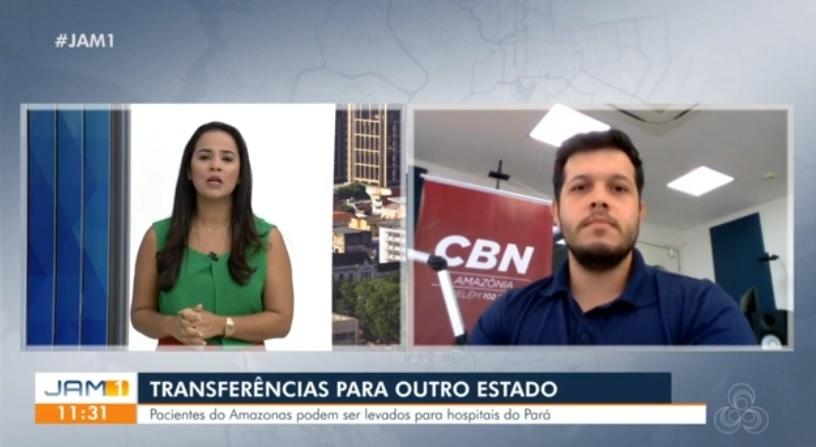 Governos do Amazonas e Pará firmam parceria para transferência de pacientes com Covid-19