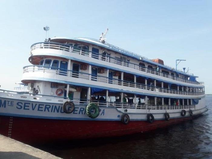 Barco Comandante Severino Ferreira Foto Divulgação